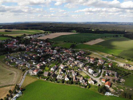 Letecká fotografie Vepřové